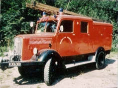 Erstes TLF der Regelsbrunner Feuerwehr Opel Blitz