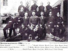 Mannschaftsfoto 1904
